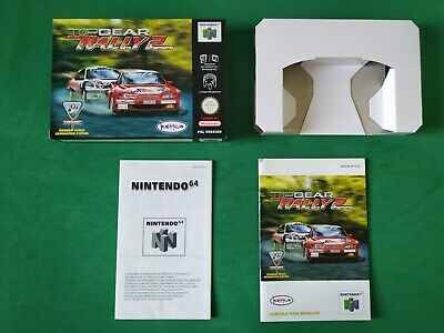 Top Gear Rally 2 Box Caja N64 Nintendo 64 PAL Sin Juego! ORIGINAL!