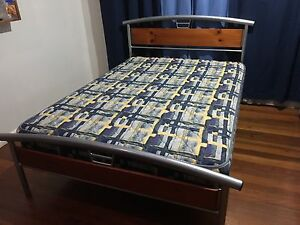 Double bed with mattress Taree Greater Taree Area Preview