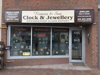 ROMAN'S WATCH AND CLOCK SALE & REPAIR....SERVICE SINCE 1996