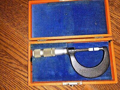 Brown Sharpe 0-1 Blade Micrometer