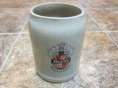 Beck's Beer Stein 0.5L liter Stoneware Mug, Made in West Germany