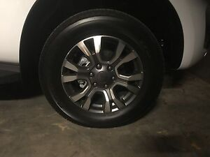 Ford Ranger wildtrak wheels and Tyres Hillbank Playford Area Preview