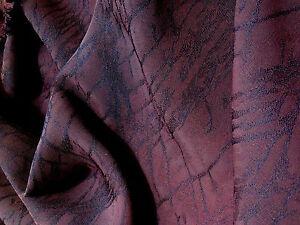 Karen Millen  Devore Polyester/Rayon Dark Burgundy Dress/Craft Fabric*FREE P&P*