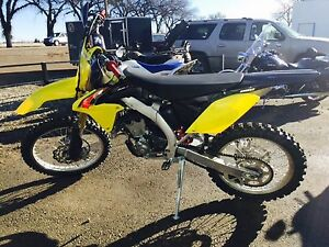 2015 Suzuki RMZ250 under 1hour
