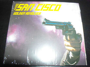 San Cisco Golden Revolver CD EP - New