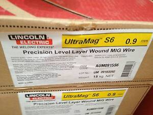 Lincoln Ultramag S6 Mig Welding Wire 15kg - BNIB - Half Price Greenwith Tea Tree Gully Area Preview