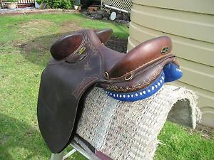 Tom Parry Full flap saddle new ,top poley saddle Toowoomba Surrounds Preview