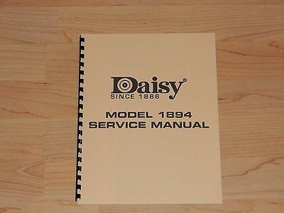Daisy Model 1894 Factory Service Manual - #D1 ()