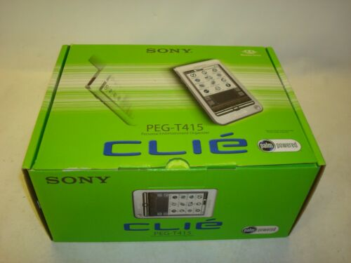 SONY PEG-T415 Clie Handheld PDA NEW IN BOX