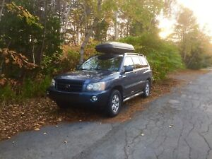 2003 Toyota Highlander Limited AWD - AS IS -fully loaded