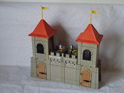 Playmobil Stadtmauer, Burgmauer, Eckturm, Wehrgang für Ritterburg (458)