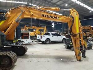 Hyundai R145CRD-9 Excavator Archerfield Brisbane South West Preview