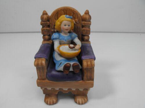 "Vintage 1986 ""Goldilocks"" Porcelain Figure Franklin Mint, Maggie Murphy"