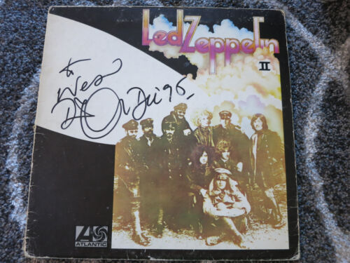 Robert Plant Signed Lp Coa + Proof! Led Zeppelin Autographed Album