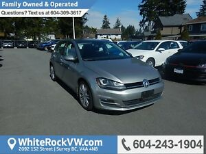 2015 Volkswagen Golf 1.8 TSI Highline Power Moonroof, Leather...