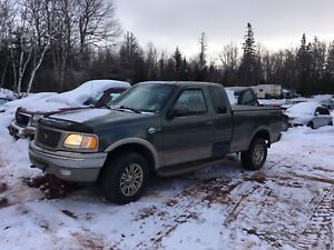 Parting Out 02 F150 King Ranch