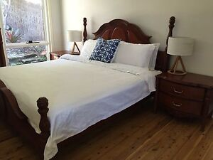 Luxury King Size Bed and Mattress Killcare Gosford Area Preview