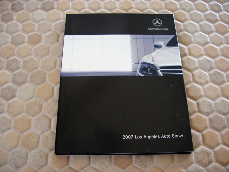MERCEDES BENZ AND MAYBACH OFFICIAL FULL LINE PRESS CD 2007 USA EDITION