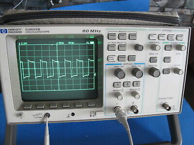 Hp 54603b Oscilloscope 60 Mhz Dual Channel Wgpib - Works. Made In Usa