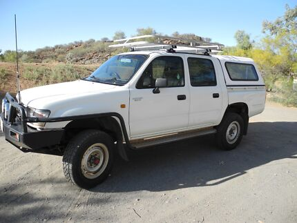 2000 Toyota Hilux Ute 4x4 Alice Springs Alice Springs Area Preview