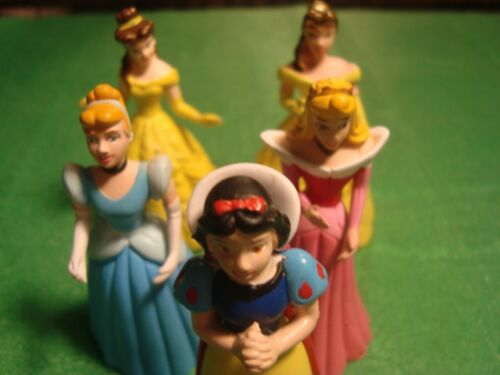 "5 Disney,Princess, Sleeping Beaty,Figures 4"",PVC toys,lot"
