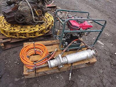 Darda Hydraulic Demolition Splitter Gas Power Unit 12 Rock Demo Breaker