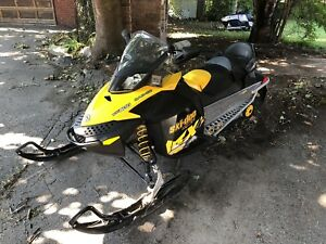 2010 Skidoo MXZ 600 2up