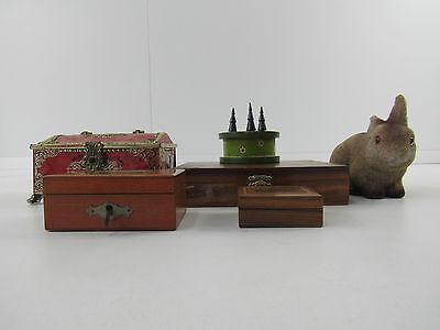 Konvolut Spardosen Holzdosen Dosen Set 6 Stück