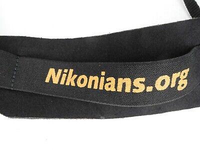 Nikonians.org Nikon OP/Tech USA Camera Neck Strap w/ Quick Release
