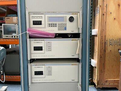 California Instruments 15001ix 15 Kva Ac Power Source Calibrated By Ametek