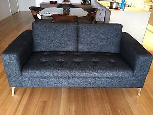 Nick Scali 2.5 seater couch Southbank Melbourne City Preview