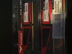 8gb DDR4 ram never used black and red