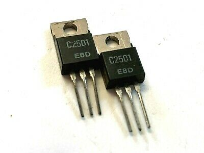 2sc2501 Transistor Silicon Npn 400v Free Shipping Within The Us Lot Of 4