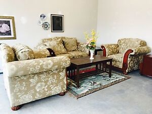 Love seat plus 2 chairs