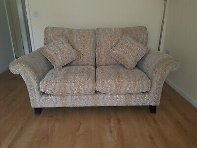 Parker Knoll, Burghley 2 seater sofa/couch with scatter cushions