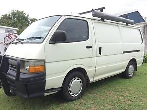 Toyota Hiace camper van Grafton Clarence Valley Preview
