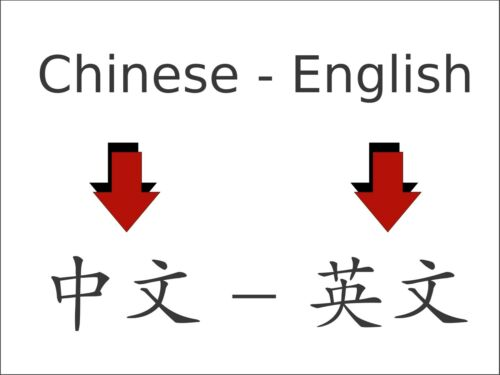 English - Simplified Or Traditional Chinese / Mandarin - English Translation. - $0.01