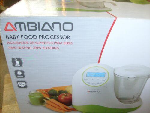 AMBIANO: BABY FOOD PROCESSOR … Brand New, Opened Box.