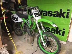 2001 kx125 with papers