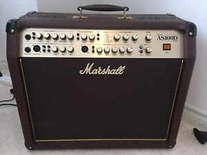 MARSHALL AS100D. AMP MINT COND