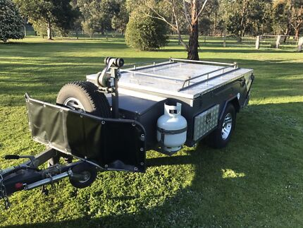 Ezy trail camping trailer Toongabbie Latrobe Valley Preview