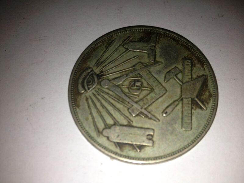 MADE A MASON COIN 1914-1915