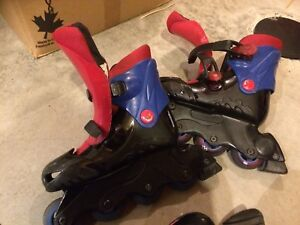 In-line roller blades - patins a roues alignées