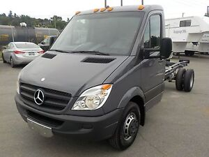 2012 Mercedes-Benz Sprinter 3500 Dually Diesel 14 Foot Cab & Cha