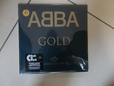 ABBA - GOLD - GREATEST HITS - 40TH ANNIVERSARY - 2 X LP VINYL - NEW - SEALED