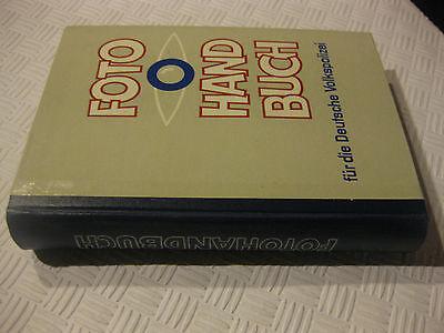 Fotohandbuch für die Deutsche Volkspolizei Ministerium des Innern 1.Auflage 1971