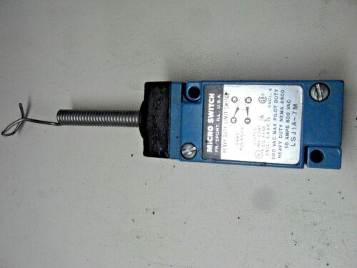 (H2-1) 1 MICROSWITCH LSJ1A-7M SWITCH