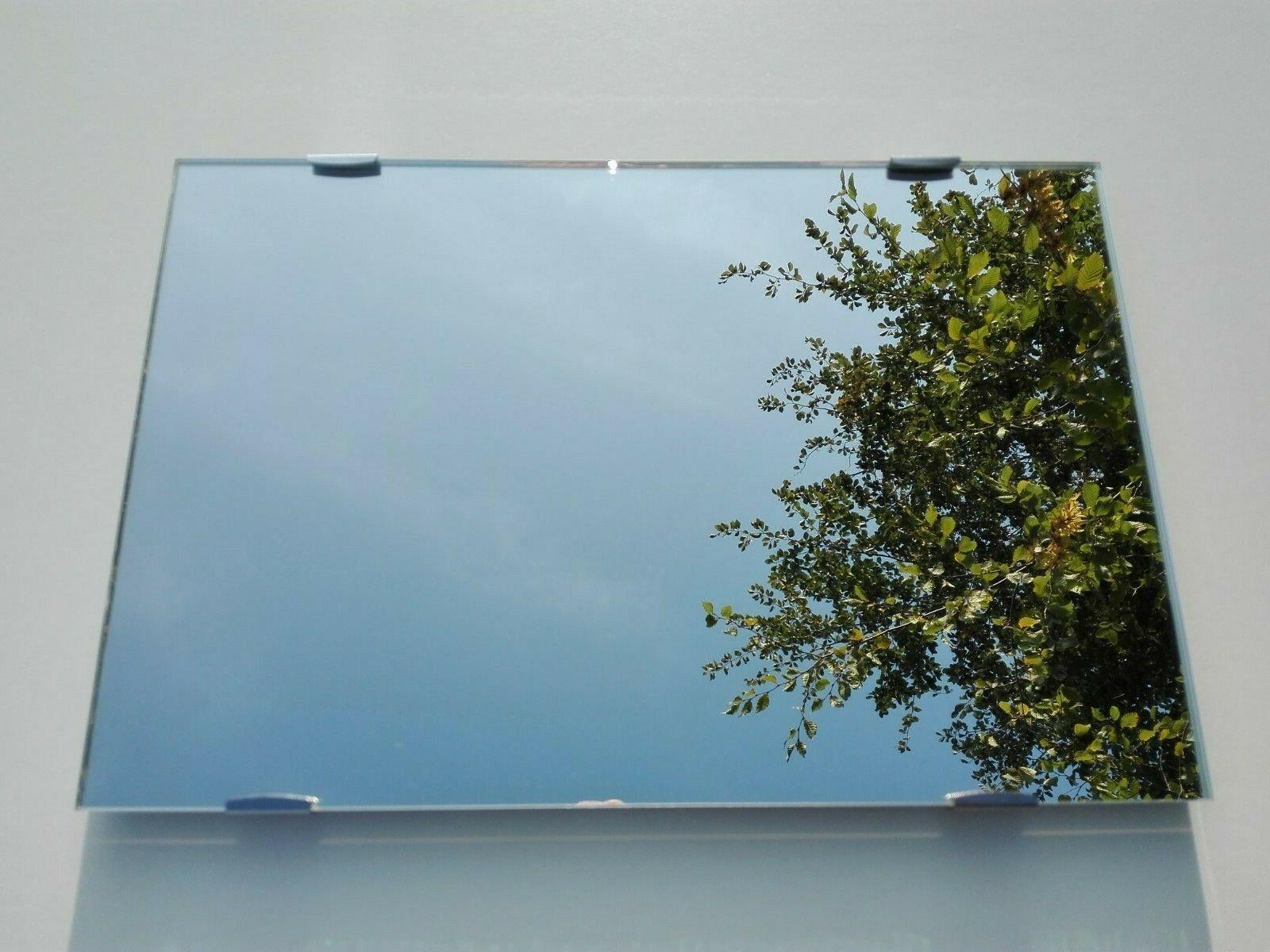 Wandspiegel rahmenlos Hängespiegel Kristall Spiegel mit Spiegelklammern