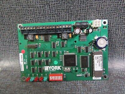York Chiller Micro Gateway Circuit Power Board Model 031-02039-005 Warranty