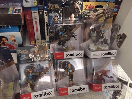 Zelda Amiibo Lot